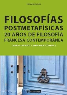Filosofías postmetafísicas, de Laura Llevadot Pascual i Jordi Riba Miralles