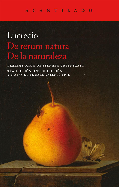 De rerum natura (De la naturaleza), de Lucrecio