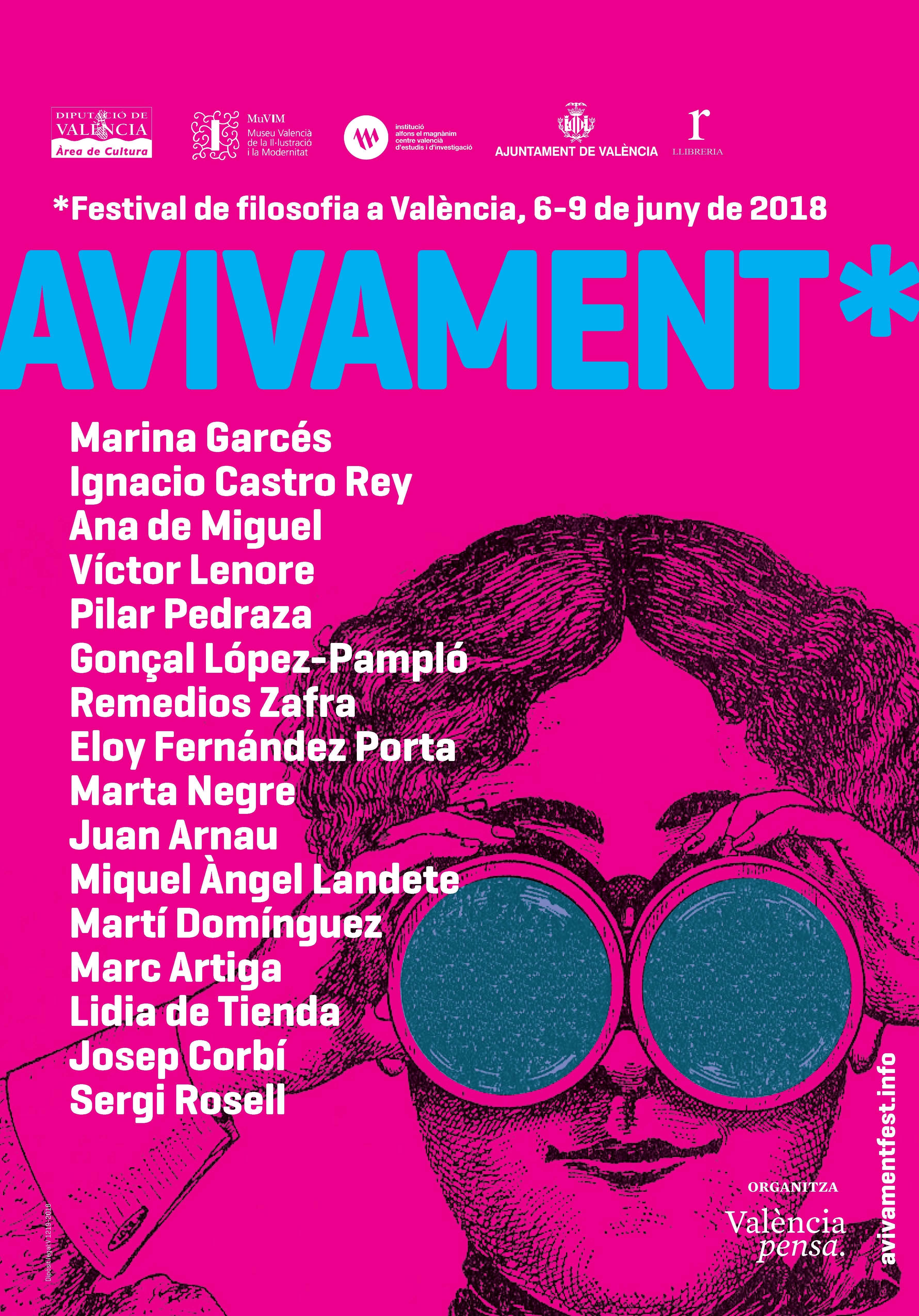 Marina Garcés y Remedios Zafra participarán en el festival de filosofía Avivament | Las Provincias, 19.5.2018