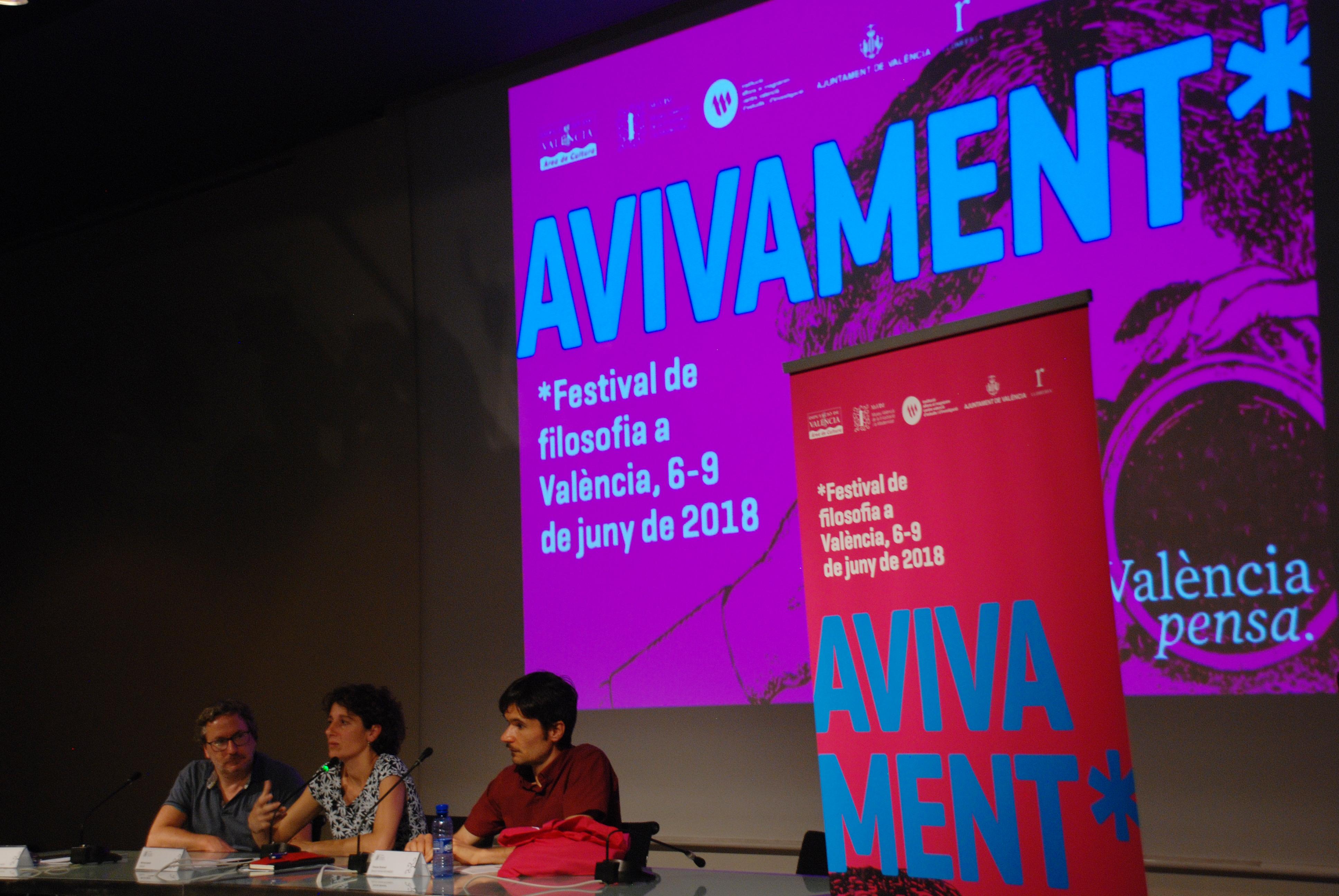 Fotos ponencia inaugural de Marina Garcés | 7 juny 2018 al MuVIM #Avivament2018